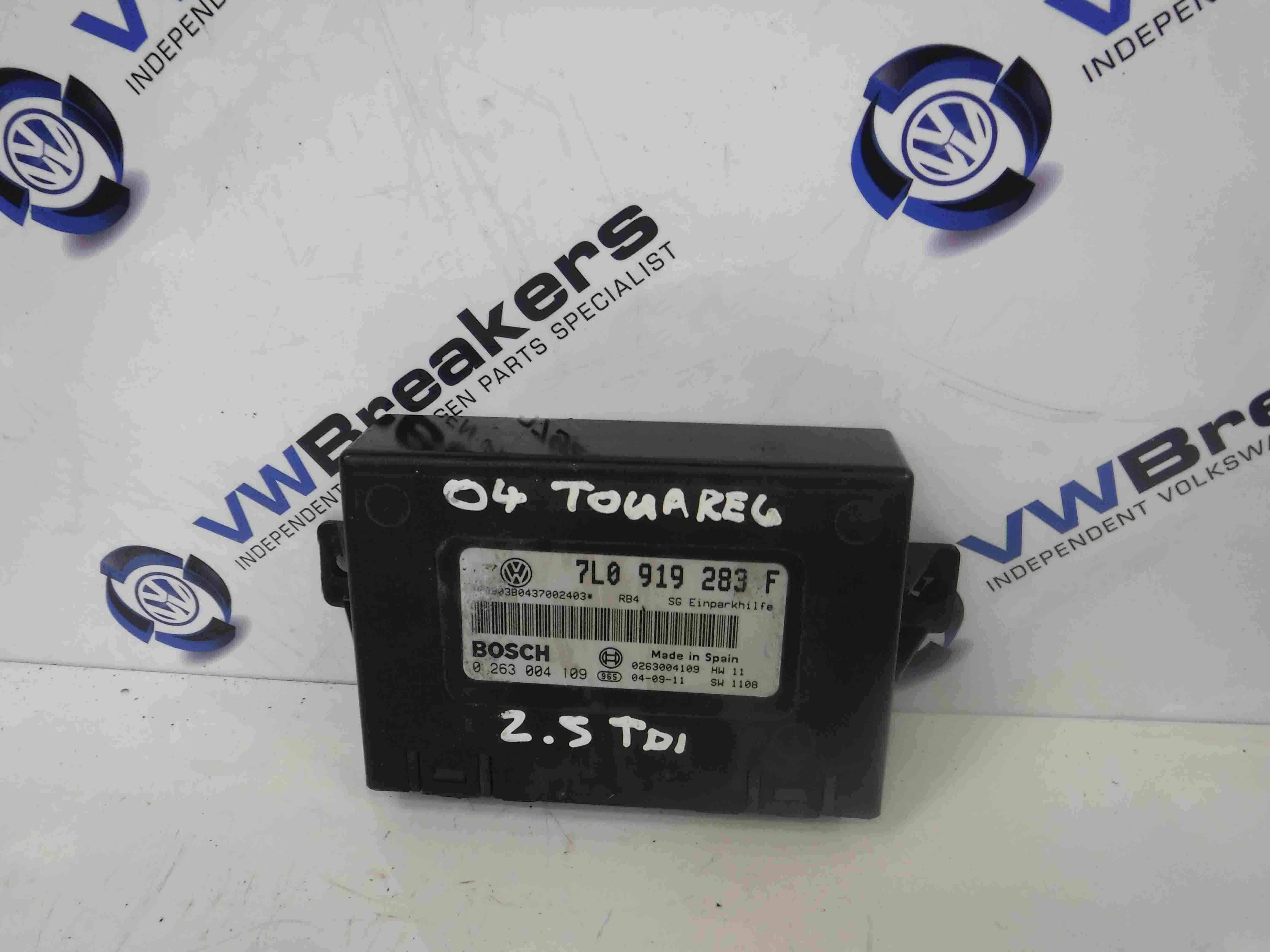 Volkswagen Touareg 2002-2007 Parking Assistance Control Unit 7L0919283F