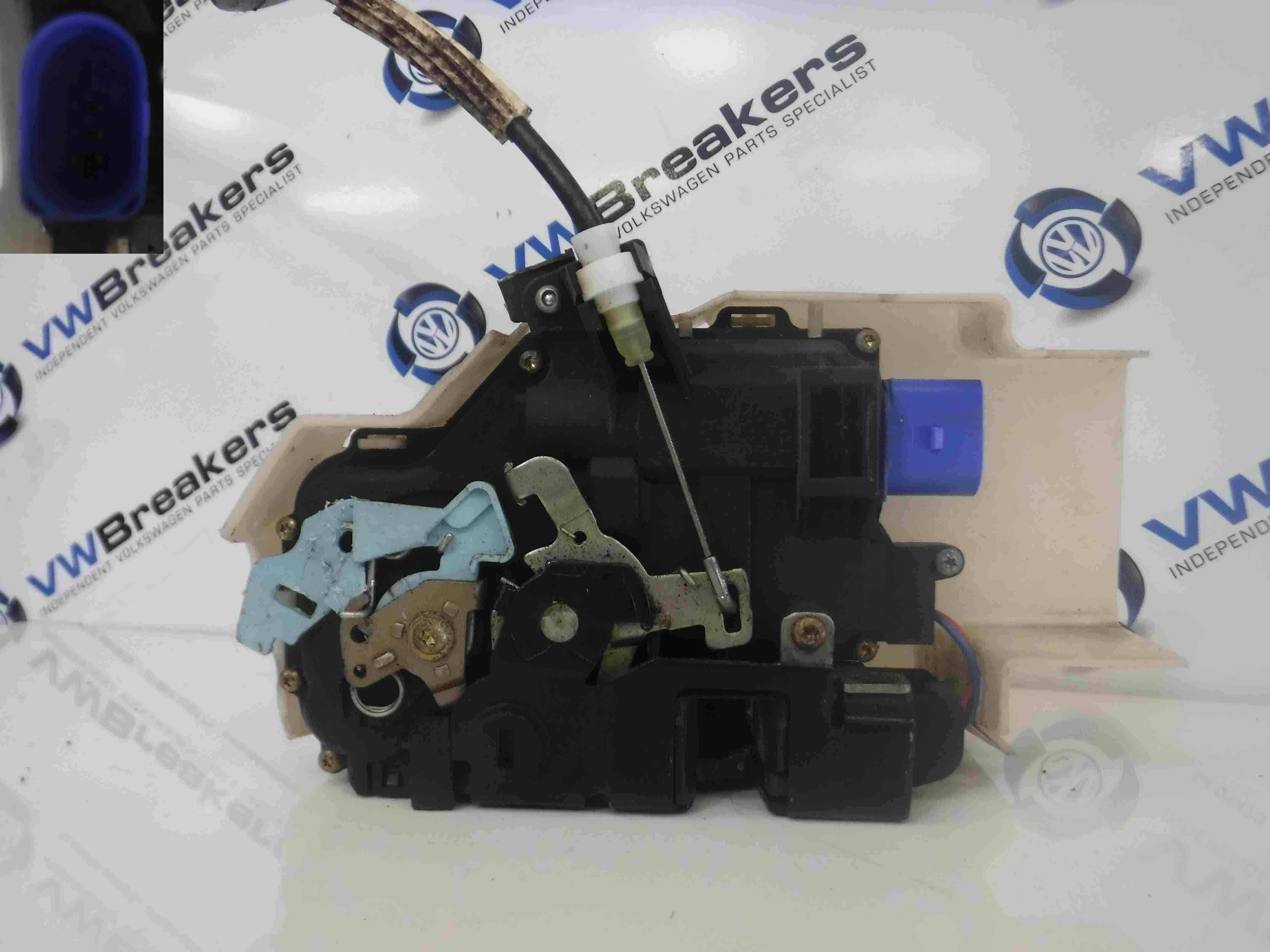 Volkswagen Touareg 2002-2007 Passenger NSR Rear Door Lock Mechanism