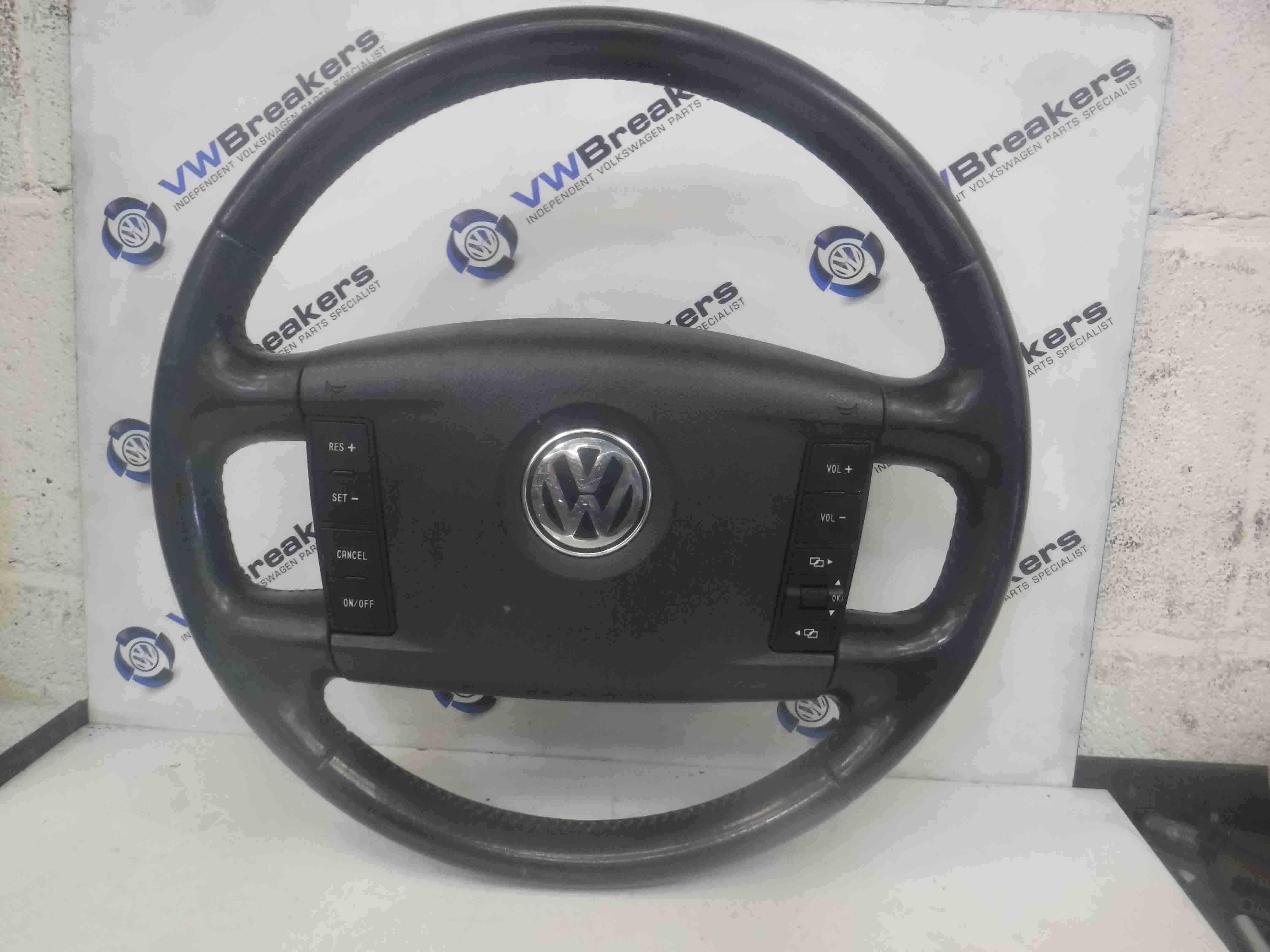 Volkswagen Touareg 2002-2007 Steering Wheel With Airbag