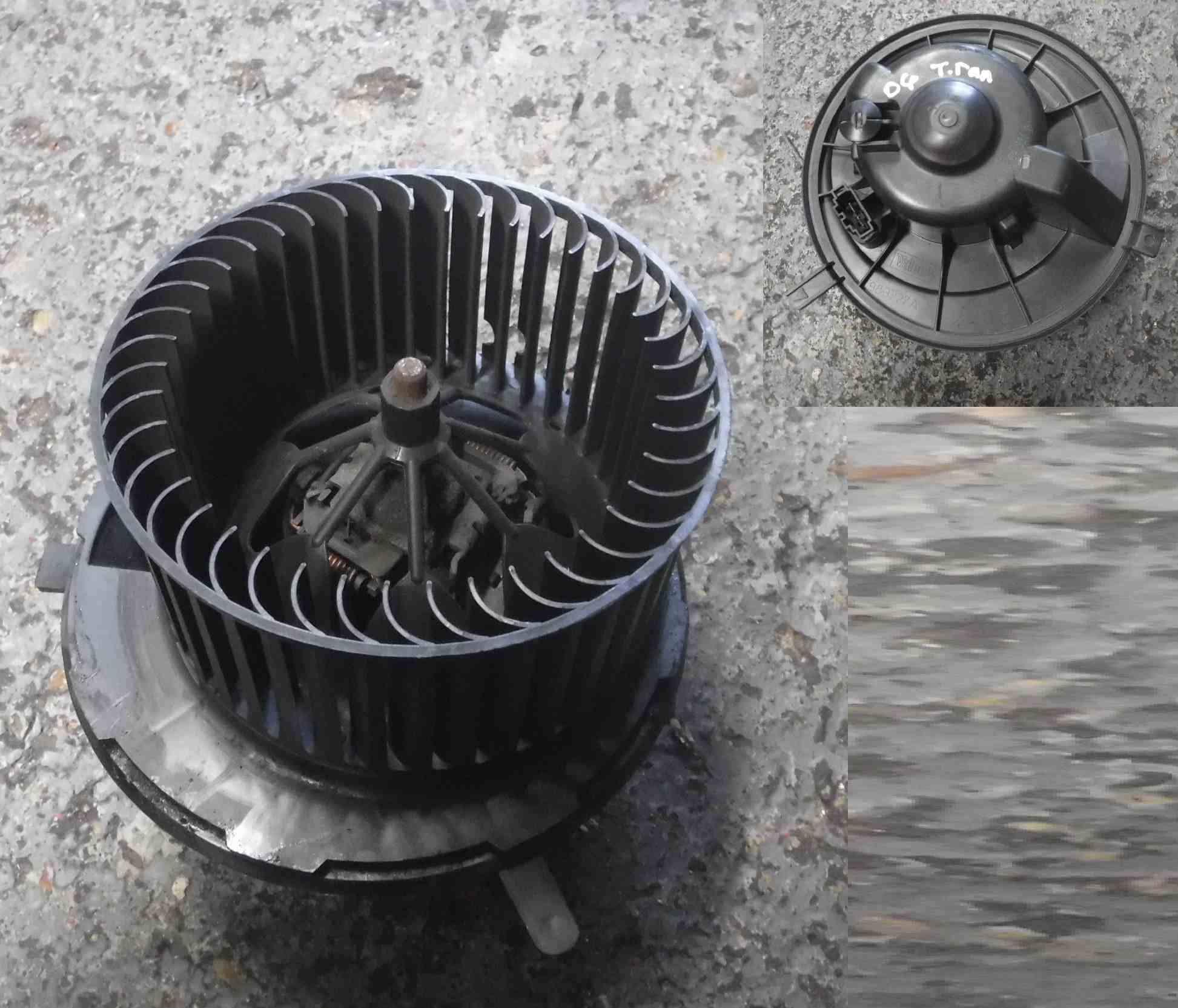 Volkswagen Touran 2003-2006 Heater Blower Motor Fan