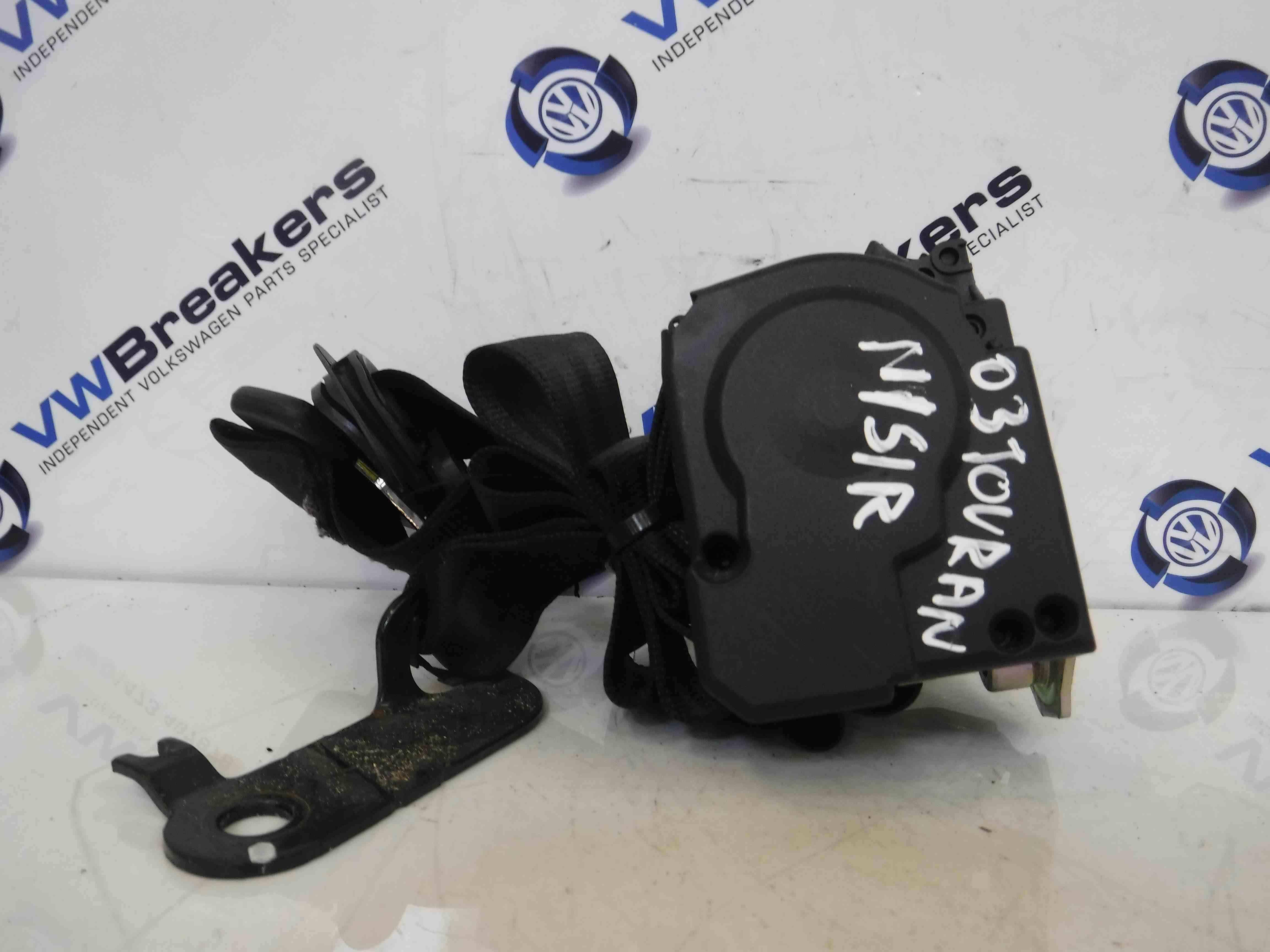 Volkswagen Touran 2003-2006 Passenger NSR Rear Boot 3rd Row Seat Belt