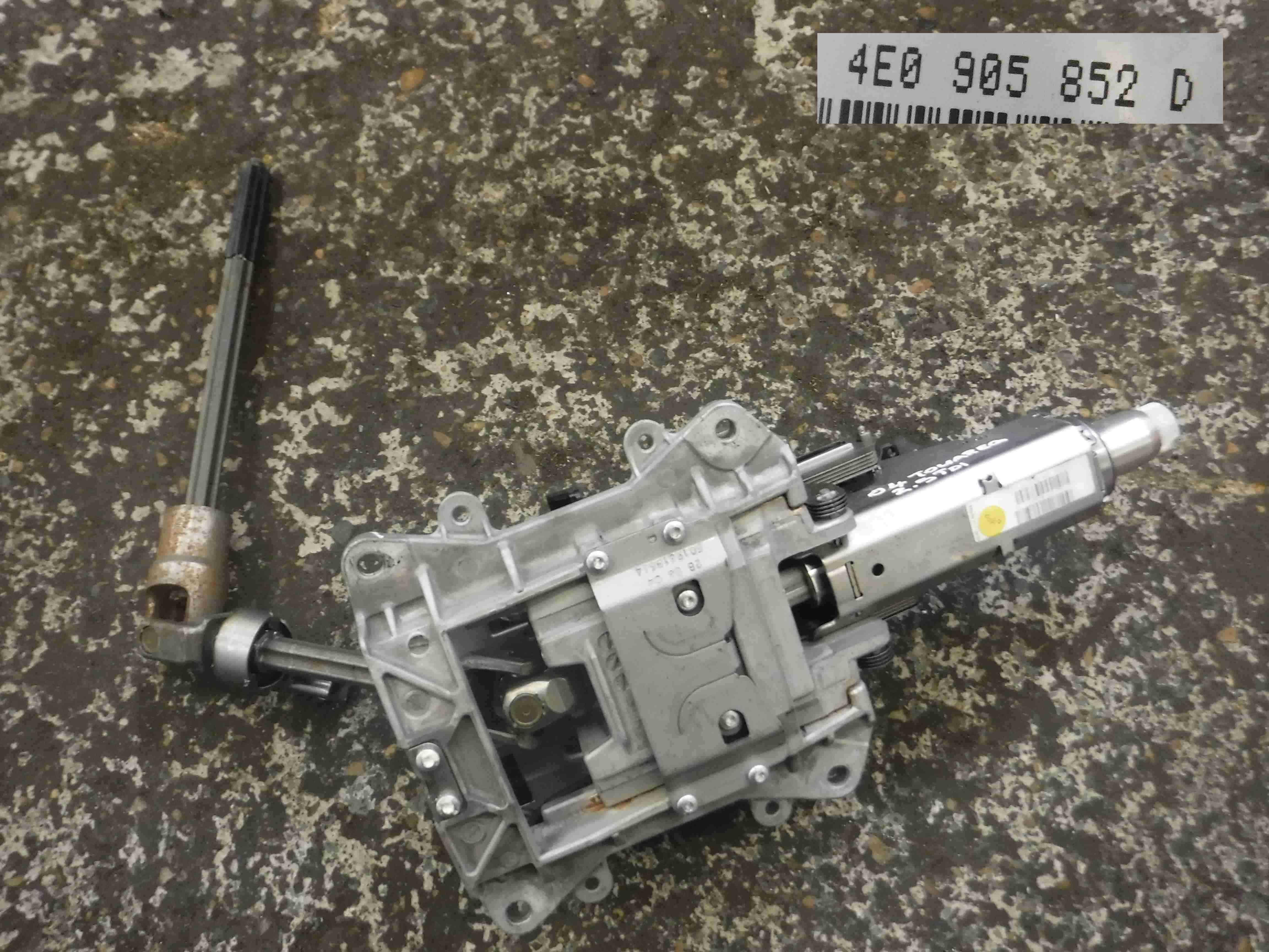 Volkswgaen Touareg 2002-2007 Power Steering Column 4E0905852D