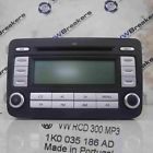Volkswagen Golf MK5 2003-2009 Radio CD Player Double Din 1K0035186AD