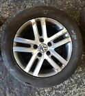 Volkswagen Golf MK6 2009-2012 Atlanta Alloy Wheel 16inch + Tyre 205 55 16 6mm