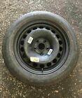 Volkswagen Passat B6 2005-2010 Steel Wheel Rim + Tyre 215 55 16 5mm Tread