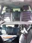 Volkswagen Touareg 2002-2007 Complete Leather Interior Set Seats Cards Black